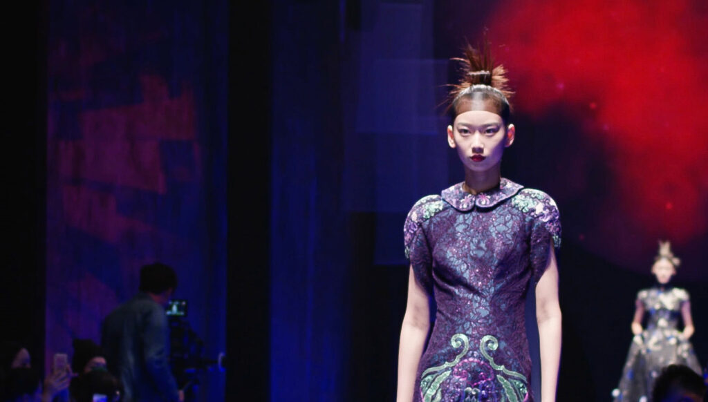 Laurence Xu has gained prominence for his efforts to reinvigorate traditional fabrics and decorative techniques from China's imperial past.
