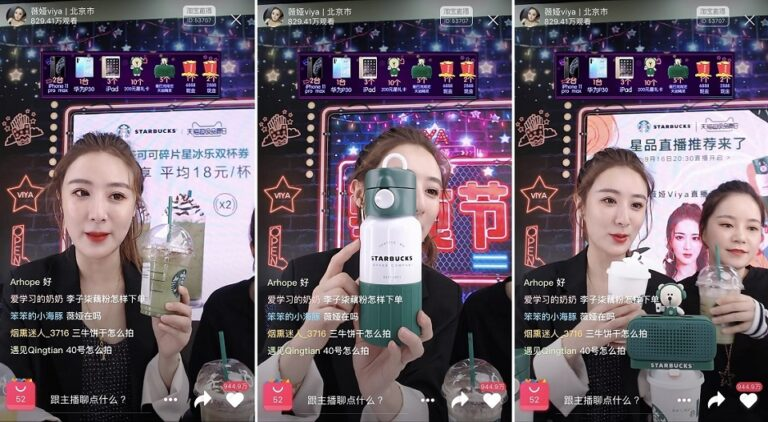 Live-streaming influencers in China