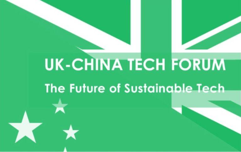 UK-China Tech Forum, 23 Sept