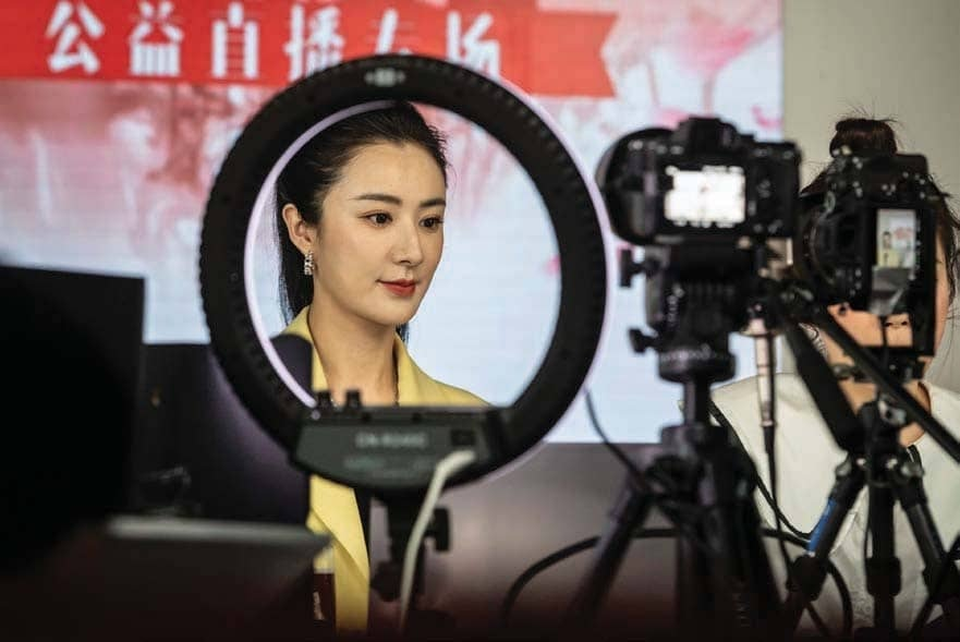Livestreaming in China has boomed thanks to hosts such as Viya.