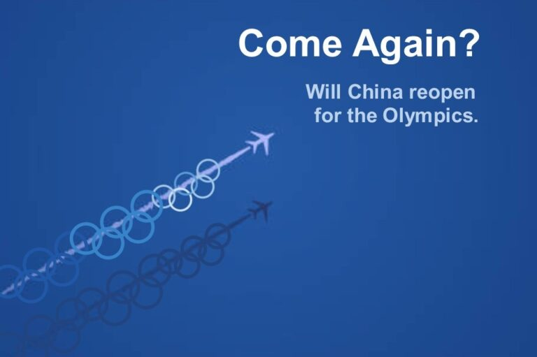 Could the Beijing Winter Olympics be the starting gun for China's reopening?